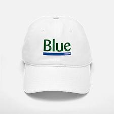 Blue Stroop Baseball Baseball Cap