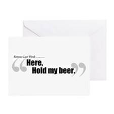 Famous Last Words: Greeting Cards (Pk of 10)