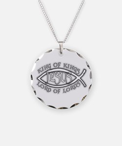 King of Kings Ichthus Necklace