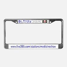 Live365.com's Dr. Rock License Plate Frame
