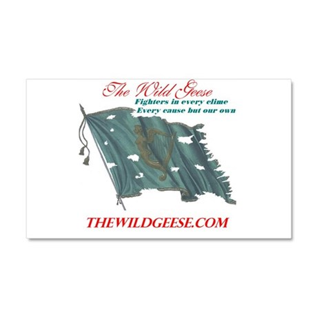 The Wild Geese Car Magnet 20 x 12