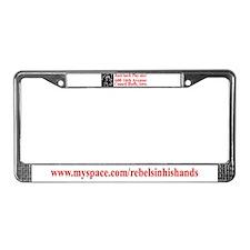 REBELS Gear License Plate Frame