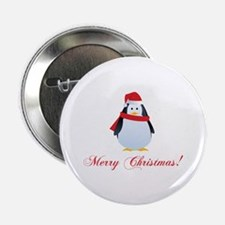 "Christmas penguin 2.25"" Button (100 pack)"
