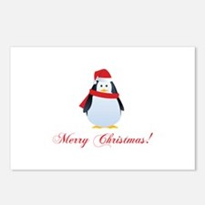 Christmas penguin Postcards (Package of 8)