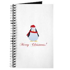 Christmas penguin Journal