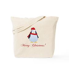 Christmas penguin Tote Bag