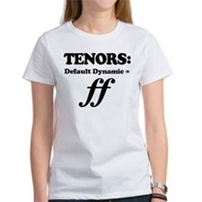 Tenor Gift Funny Quote Tee