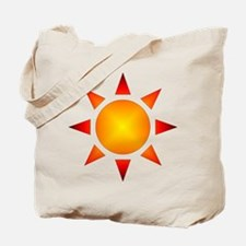 Sunburst Gear Tote Bag