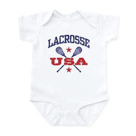 Lacrosse USA Infant Bodysuit