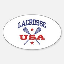 Lacrosse USA Decal
