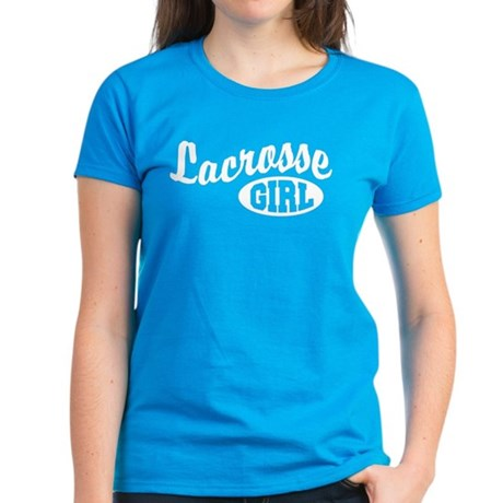 Lacrosse Girl Women's Dark T-Shirt