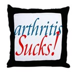 Arthritis Sucks! Throw Pillow