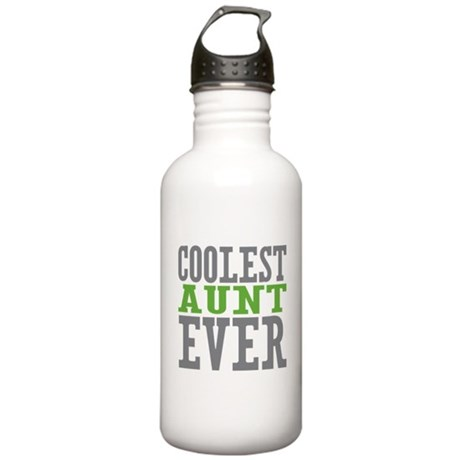 Coolest Aunt Ever Stainless Water Bottle 1.0L