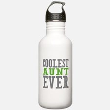 Coolest Aunt Ever Water Bottle