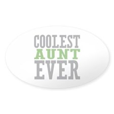 Coolest Aunt Ever Decal