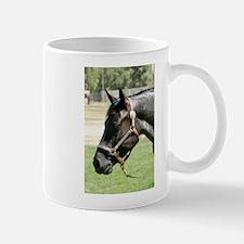Blue Roan Horse Mug