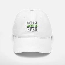 Coolest Auntie Baseball Baseball Cap