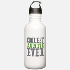 Coolest Auntie Sports Water Bottle