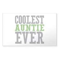 Coolest Auntie Decal