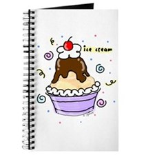 Hot Fudge Sundae Ice Cream Journal
