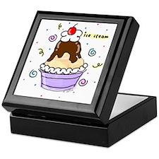 Hot Fudge Sundae Ice Cream Keepsake Box