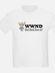 What Would Nixon Do Kids T-Shirt