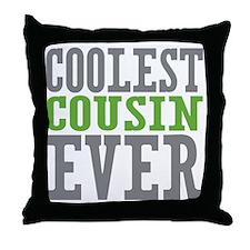 Coolest Cousin Throw Pillow