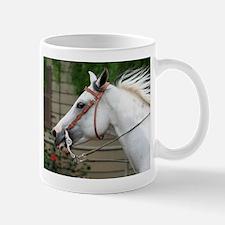 Gray & White Paint Horse Mug