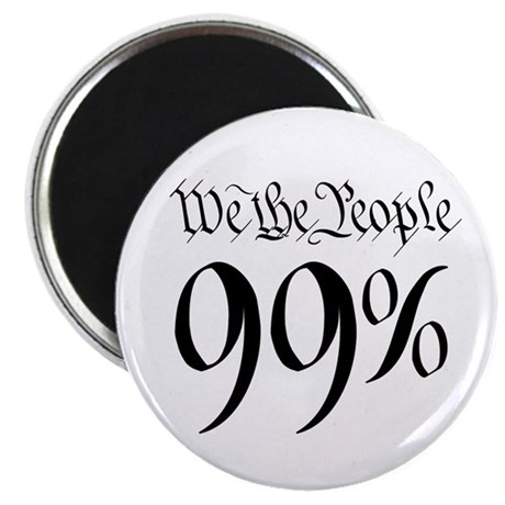 "we the people 99% black 2.25"" Magnet (10 pack)"