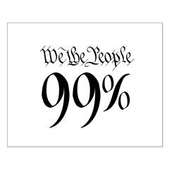 we the people 99% black Posters