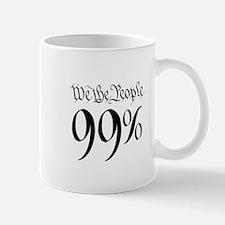we the people 99% black Mug