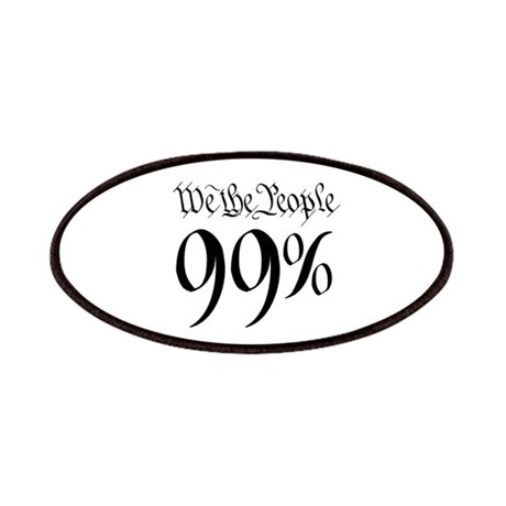 we the people 99% black Patches