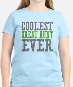 Coolest Great Aunt T-Shirt