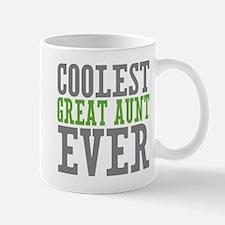 Coolest Great Aunt Mug
