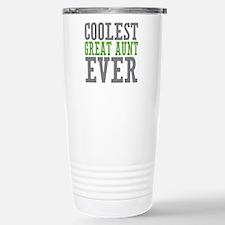 Coolest Great Aunt Travel Mug