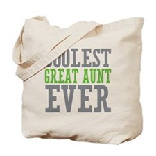 Coolest Great Aunt Tote Bag