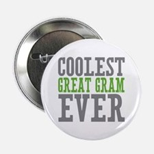 "Coolest Great Gram 2.25"" Button"