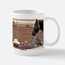 Sleeping Cowgirl Mug
