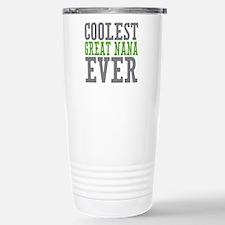 Coolest Great Nana Travel Mug