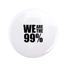 "We Are the 99% 3.5"" Button (100 pack)"