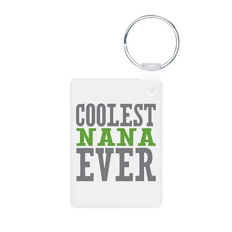 Coolest Nana Aluminum Photo Keychain