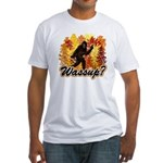 Whats Up Bigfoot Sasquatch Fitted T-Shirt