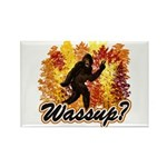 Whats Up Bigfoot Sasquatch Rectangle Magnet
