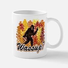 Whats Up Bigfoot Sasquatch Small Small Mug