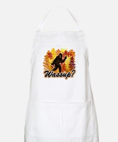 Whats Up Bigfoot Sasquatch Apron