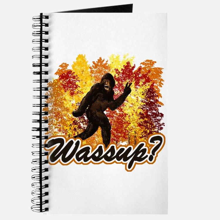 Whats Up Bigfoot Sasquatch Journal