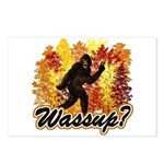 Whats Up Bigfoot Sasquatch Postcards (Package of 8