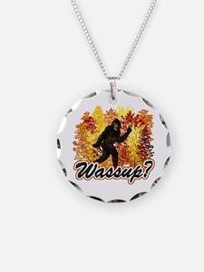 Whats Up Bigfoot Sasquatch Necklace