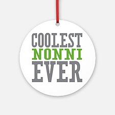 Coolest Nonni Ornament (Round)