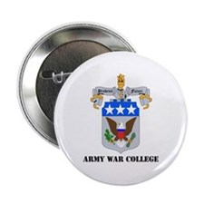 "DUI - Army War College with Text 2.25"" Button (100"